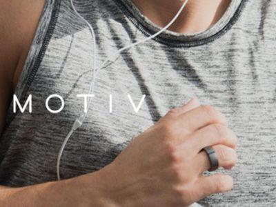 fitness tracker Motiv anello